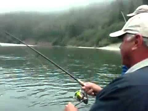 Steelhead and salmon fishing on the Klamath