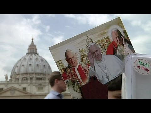 Countdown to historic canonisation of two popes
