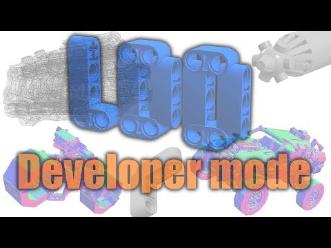 Lego Digital Designer Developer Mode