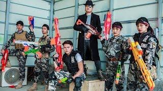 LTT Nerf War : Captain SEAL X Warriors Nerf Guns Fight Arsenal Intruder Dr Lee