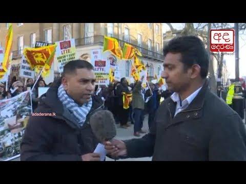 sri lankans protest  eng