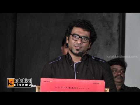Singer Haricharan at Kaaviya Thalaivan Movie Press Meet