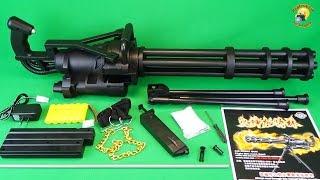 Миниган игрушечный пулемет Toy Gun  Minigun M134  airsoft sport gun