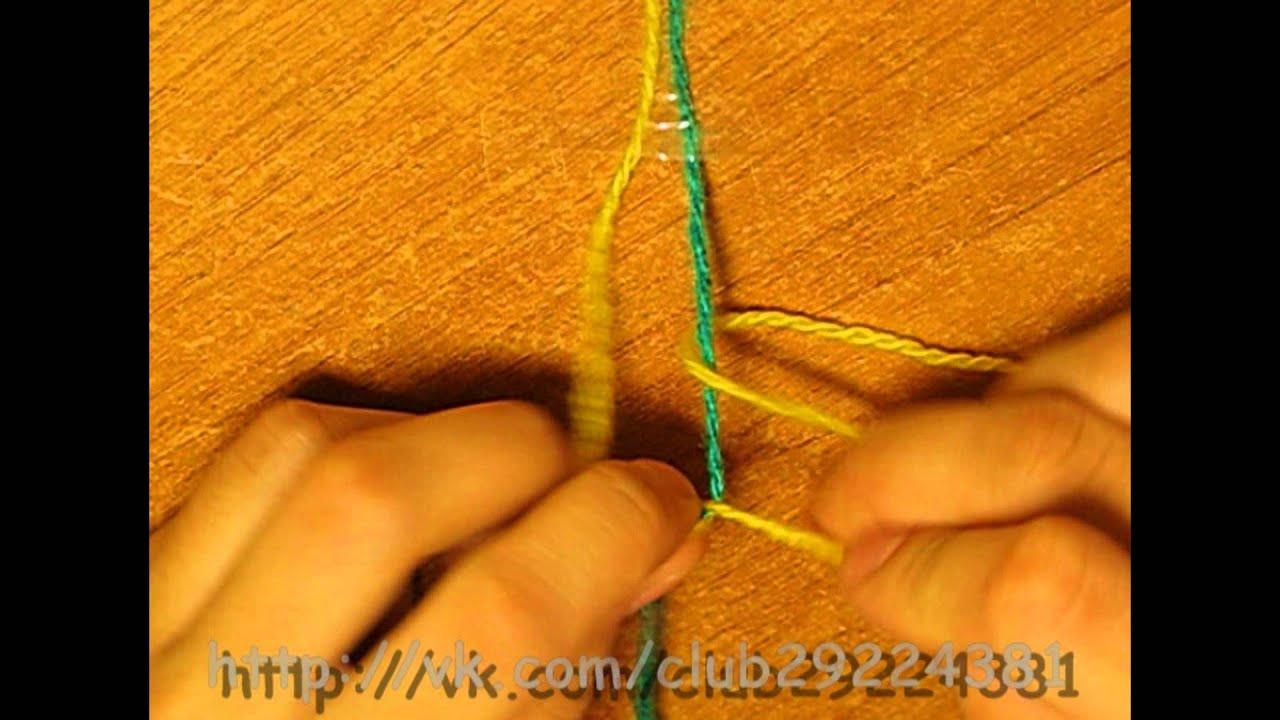 Основные узлы в фенечках