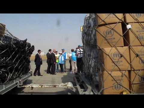 UN massive aid operation for 500,000 Iraqis kicks off