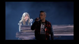 Taylor Swift And Robbie Williams Angels Reputation Stadium Tour