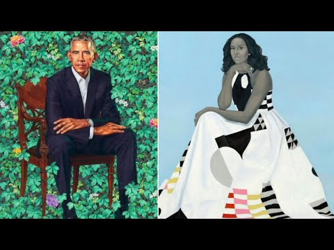 Cover Lagu Official Portraits for Barack and Michelle Obama Unveiled