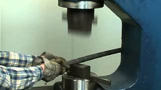 Air Hammer GSH 51 Forging examples