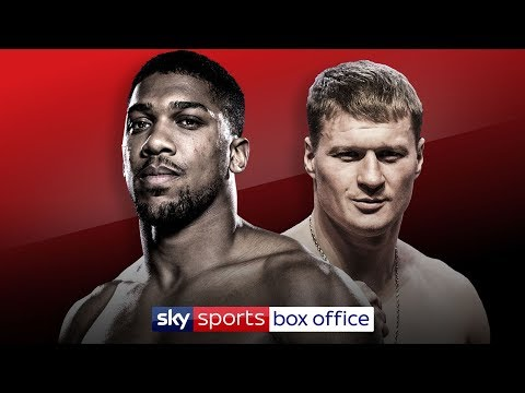 PRESS CONFERENCE | Anthony Joshua Vs Alexander Povetkin