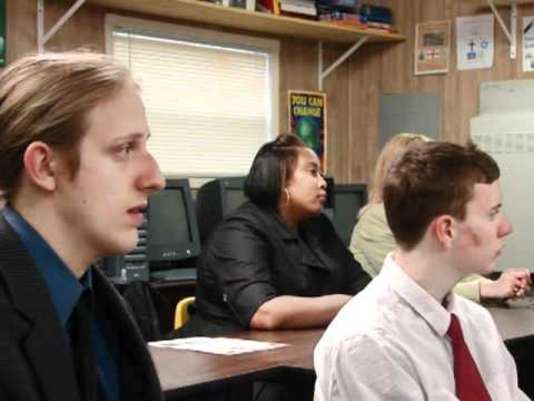 Congressman Rob Wittman visits York River Academy Students in 2010