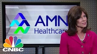 AMN Healthcare CEO: Clinician Shortage | Mad Money | CNBC