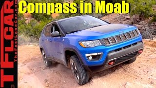2017 Jeep Compass Trailhawk Moab Off-Road Adventure Review
