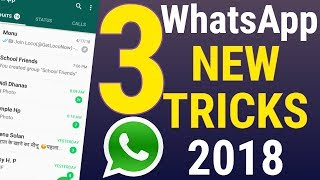Whatsapp Tricks - Whatsapp New Tricks 2018 !! Whatsapp Latest Update !! Whatsapp Latest Feature 2018