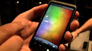 HTC Desire HD Hands On