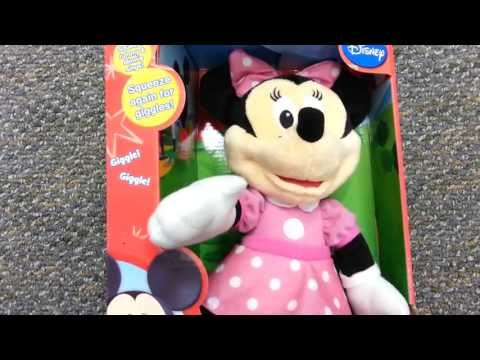Cheerin Minnie Mouse Fisher Price A Disney Minnie Mouse Animated Toy
