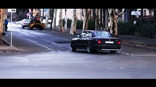 The Notorious B.I.G. & 2Pac - Sideways / BMW E34 M5 Illegal Drift (Giorgi Tevzadze)