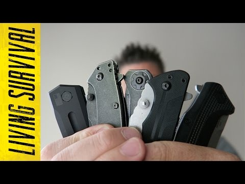 Top 5 Kershaw Folding Knives of 2015