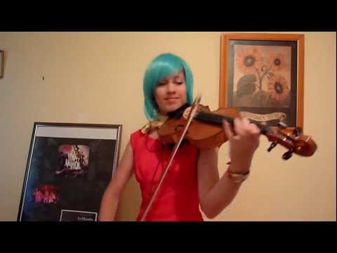 Lara Plays The Dragon Ball Z Theme Cha La La On Violin (cosplay) video