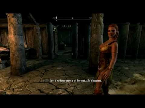 Skyrim: Yes, i killed the whole Inn for these Sexy Clothes