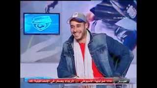 لقاء احمد صلاح السعدنى مع ليله القمه والكابتن شادى محمد