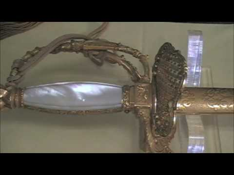 Confederate General G.T. Beauregard Presentation Sword from Colonel LeMat