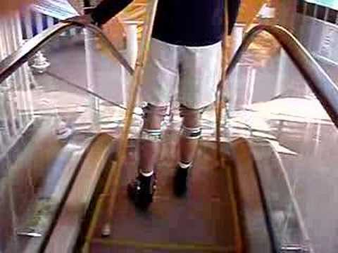 Polio Male Leg Brace 2