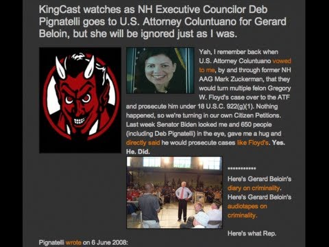 Writer Mike Volpe And Whistleblower Gerard Beloin Expose Corrupt Senator Kelly Ayotte. video