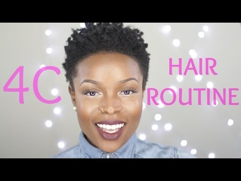 4C Healthy Hair Routine   Tapered Twa
