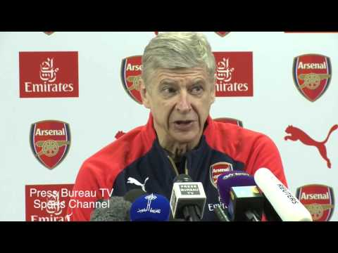 Arsene Wenger Pre Stoke Vs Arsenal