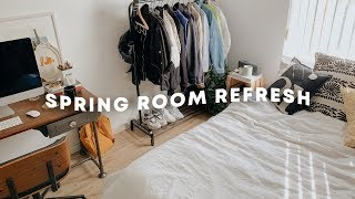 SPRING ROOM REFRESH + Deep Clean With Me // Lone Fox
