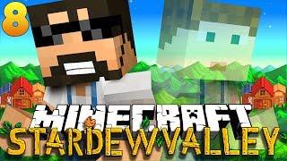 Minecraft: STARDEW VALLEY | THE SCARY MINES!! #8