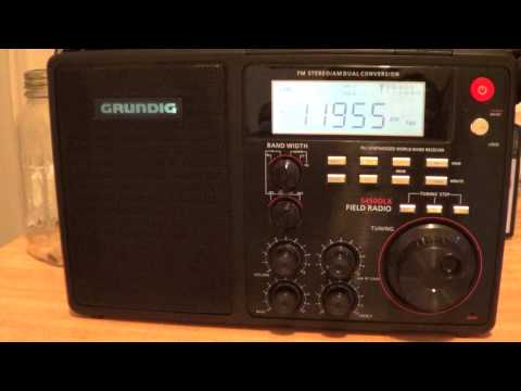 Radio Romania on 11955 khz english on Grundig S450DLX telescopic