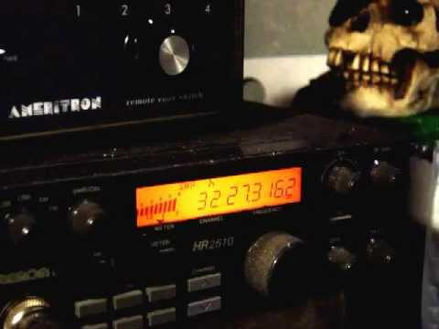 Double Spooky Bazooka receiving strong from 15 Meter Shortwave Broadcast station in TN
