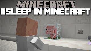 Minecraft DON'T FALL ASLEEP IN MINECRAFT!! ADVENTURE MAP!! Minecraft