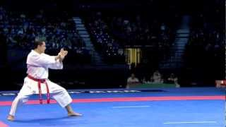 Luca Valdesi - Individual Kata Male Final - WKF World Karate Championship Belgrade 2010