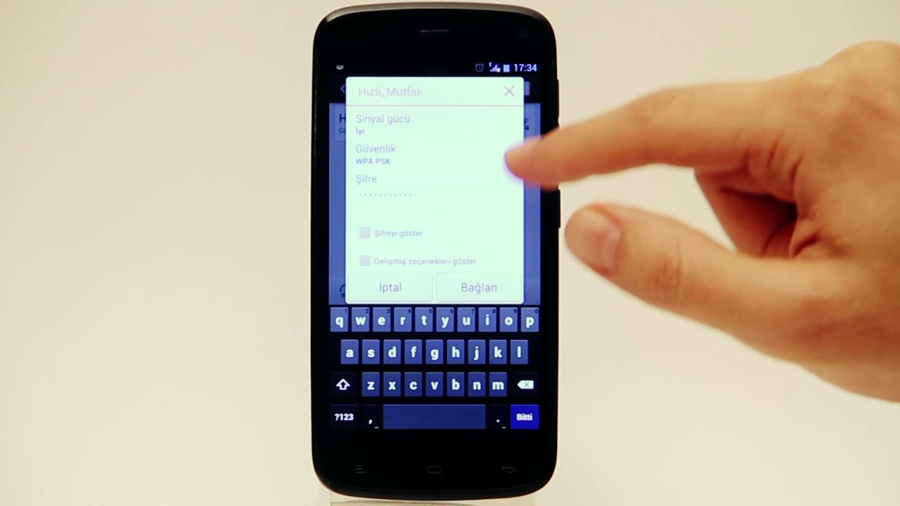 32 - General Mobile Discovery-Wİ-Fİ ve 3G Ayarları