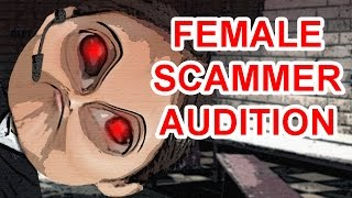 Ridiculous Female Scammer Voice Audition Offer - The Hoax Hotel