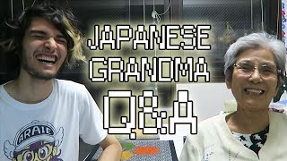 MY JAPANESE GRANDMA ANSWERS YOUR QUESTIONS!