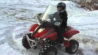 Kattera 125 ATV - video has no sound
