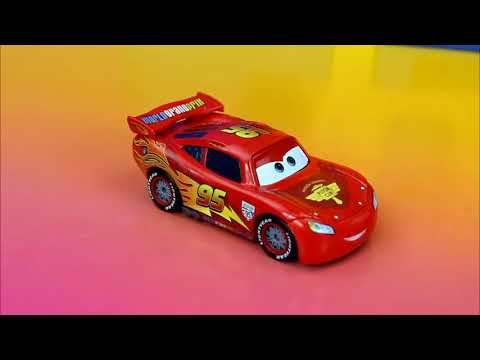 Disney Pixar Cars Lightning Mcqueen and Buzz Lightyear save Toy Story Woody Just4fun290