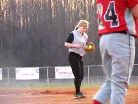 Softball Pitcher Funny Video