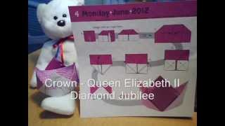 Crown - Diamond Jubilee - Origami