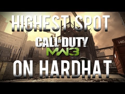 MW3 Multiplayer Glitches: Highest Spot on Hardhat (Voice Tutorial)