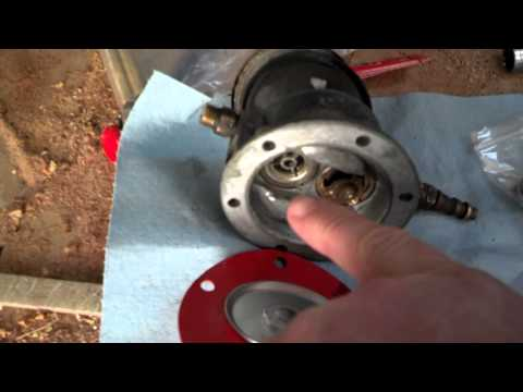 Fuel pump rebuild part 3