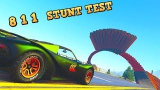 PFISTER 811 - STUNT TEST - EPIC FAIL - New GTA 5 DLC Best fully upgraded Stunt Cars