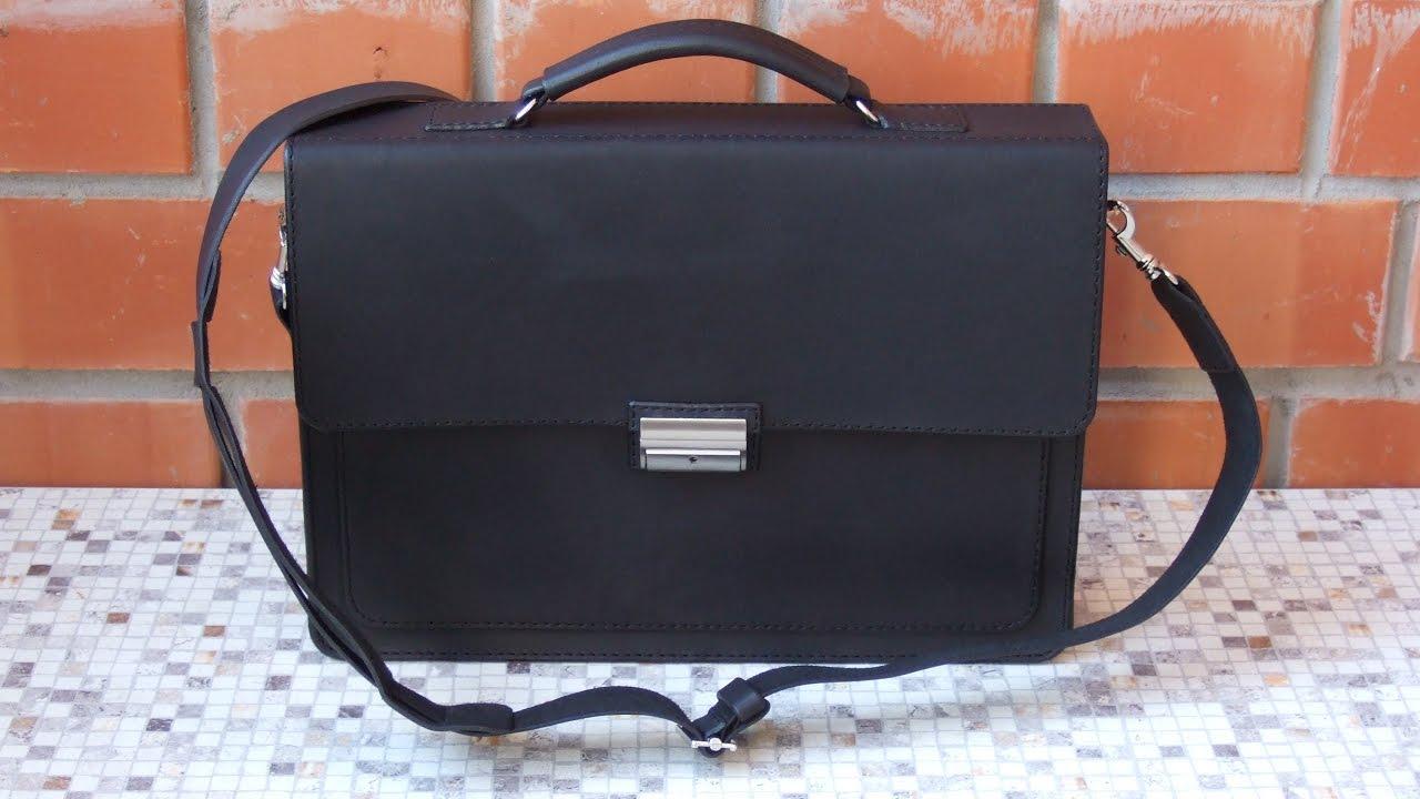 Кожаный портфель своими руками МозгоЧины 76