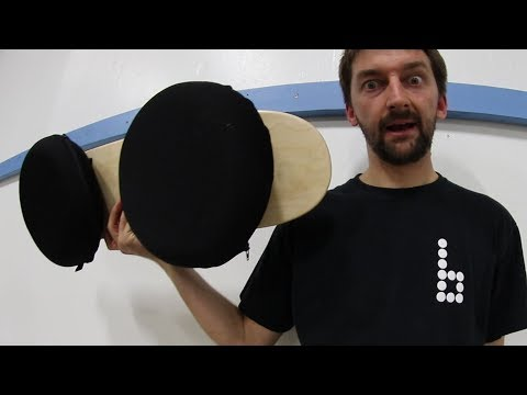 REALLY WEIRD INFLATABLE BALANCE BOARD!?