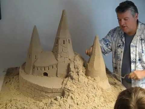 Sand Castle Building at Centreville School