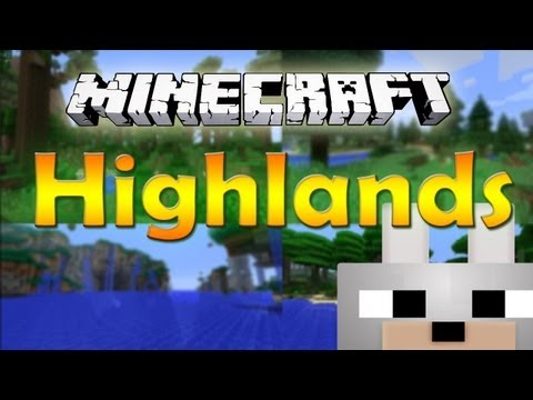 Minecraft Mods - Highlands V2.0 - 1.5.2 Review and Tutorial (40 Biomes. Working Multiplayer!)