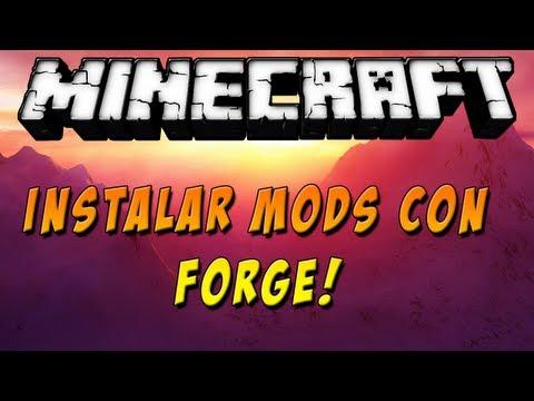 Minecraft 1.5.2 - Como instalar MODS con Forge - ESPAÑOL TUTORIAL